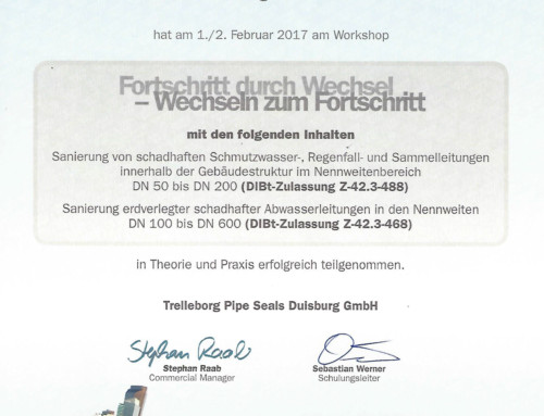 Sanierung Leitungen: Rene Lehn