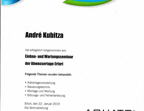 AQUATO: Andre Kubitza