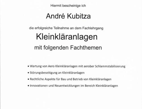 BATCHPUR: Andre Kubitza
