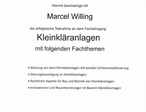 BATCHPUR: Marcel Willing