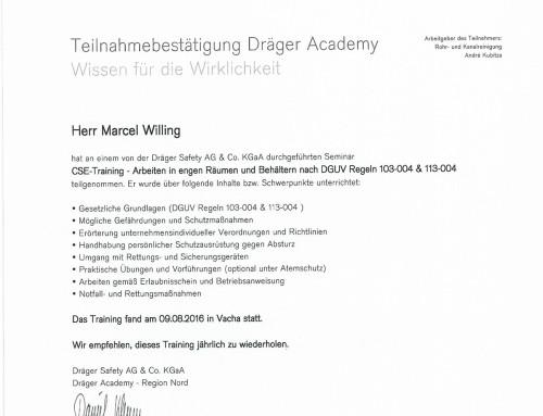 CSE Marcel Willing