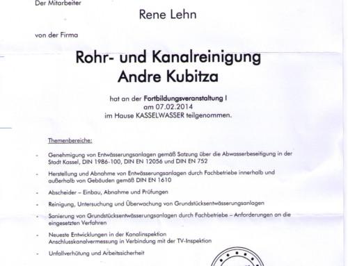 KASSELWASSER: René Lehn