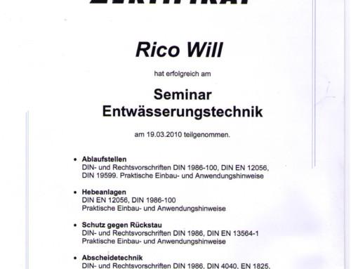 KESSEL: Rico Will