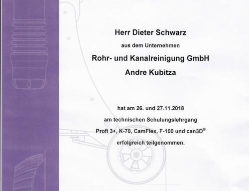 Kamerainspektion 2018: Schwarz