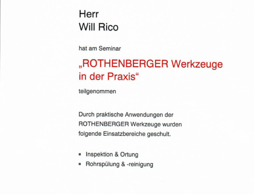 ROTHENBERGER: Will