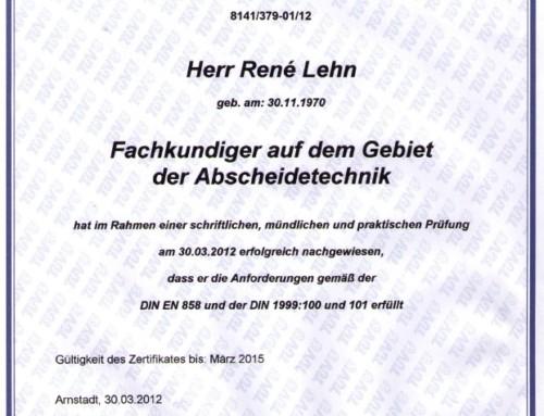 TÜV: René Lehn