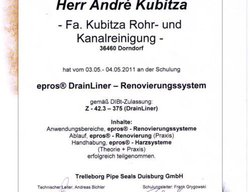 Sanierung: André Kubitza